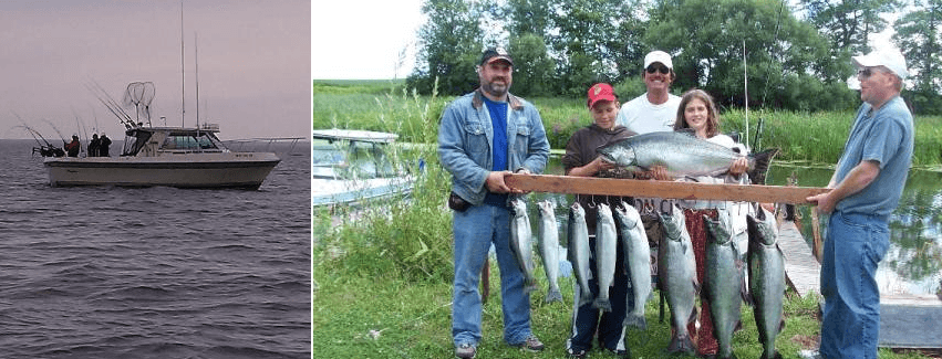 Freedom charters lake ontario salmon trout for Fishing charters rochester ny