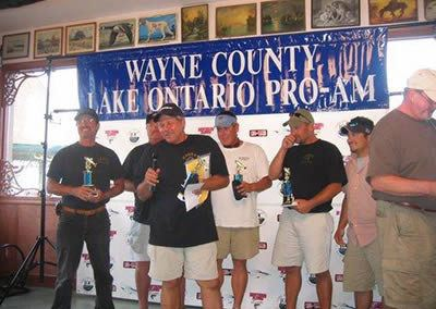 Gary along with the Candy Team, Winners 2008 Wayne County Lake Ontario Pro\Am